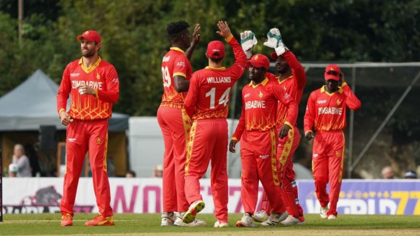 Zimbabwe returned to parity in the series
